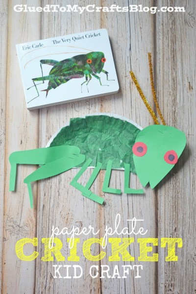 Paper Plate Cricket - Kid Craft