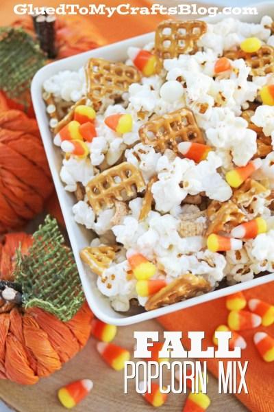 Fall Popcorn Mix - Recipe