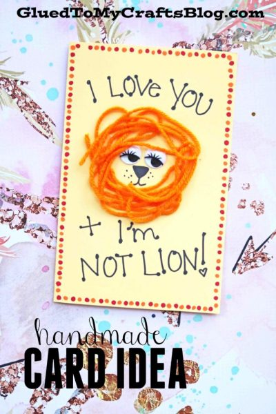 I'm Not Lion - Yarn Card