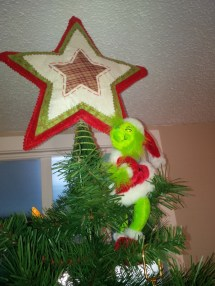 Grinch Tree Topper Year Of Clean Water