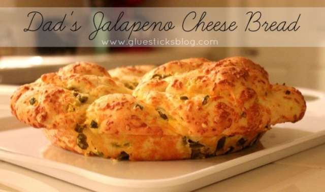 Dad's Jalapeno Cheese Bread #shop