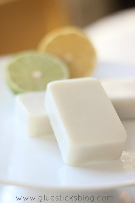 Coconut oil, shea butter, Vitamin E, beeswax, and essential oils combine to create luxurious DIY lotion bars to combat dry hands. Warm a bar with your hands for a few seconds then rub across dry skin.