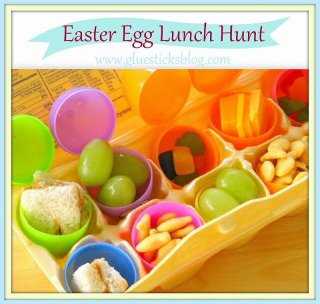 Make your kids lunch into an Easter Egg Hunt! They'll have a blast opening each egg to see what surprise awaits them!