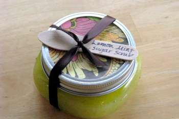 Lemon Mint Sugar Scrub