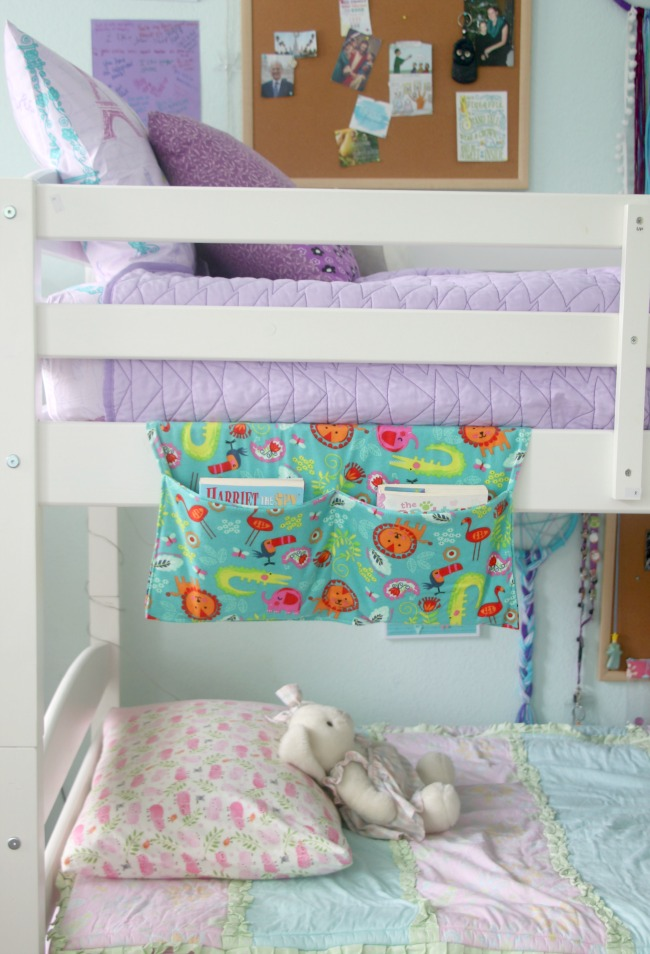 Bedside Book Caddy DIY Sewing Tutorial