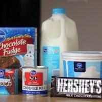 Chocolate Fudge Brownie Trifle