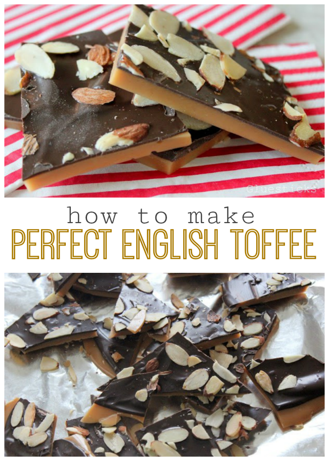 If you've ever felt intimidated by candy making, give this English toffee recipe a try. Our recipe will help you get it right the first time with step by step instructions and photographs.