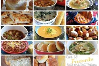 Over 14 Amazing Soup and Roll Recipes for the Winter Months