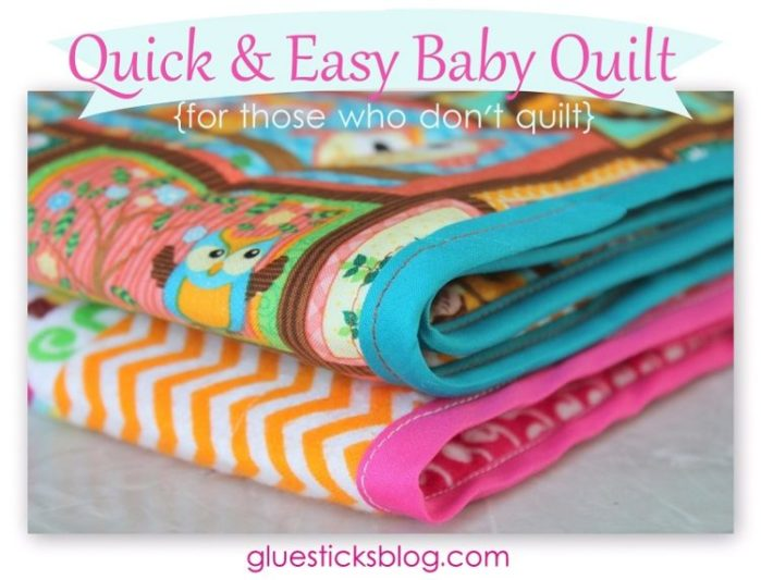 Homemade baby gift ideas gluesticks for Quick easy gift ideas