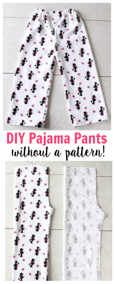 Sewing tutorial: Sew pajama pants without a pattern