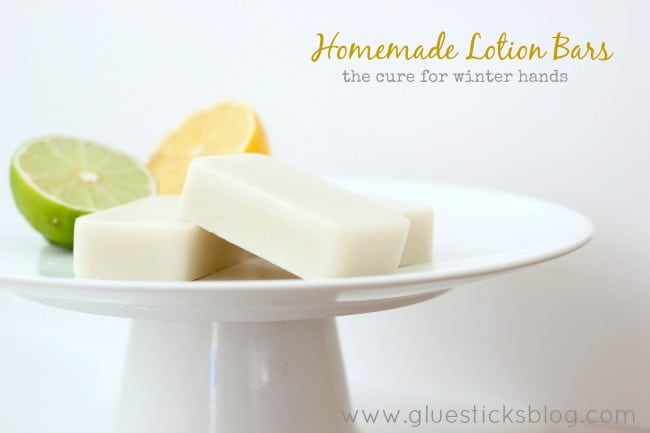 Homeamde Citrus Lotion Bars: The Cure for Winter Hands