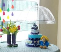April Showers Themed Baby Shower | Gluesticks