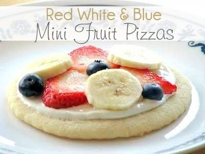 Mini Fruit Pizzas