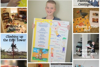 Kid Friendly: Phineas & Ferb Summer Bucket List