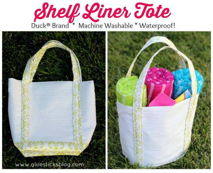 Duck® Brand Shelf Liner Tote Bag - Gluesticks