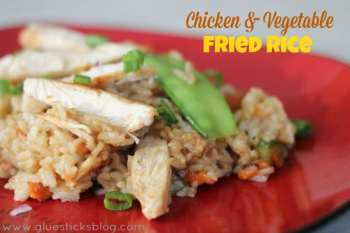 Chicken & Vegetable Fried Rice