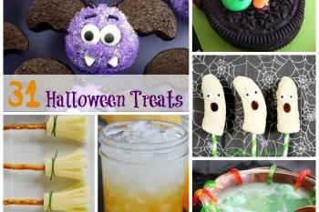 31 Fun Halloween Treat Ideas!