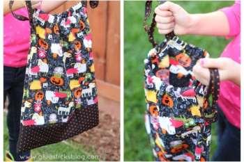 DIY Drawstring Treat Bag