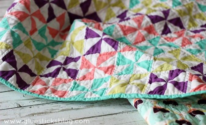 Easy Pinwheel Quilt