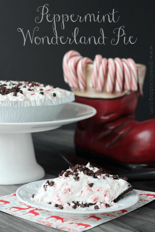 Peppermint Ice Cream Pie
