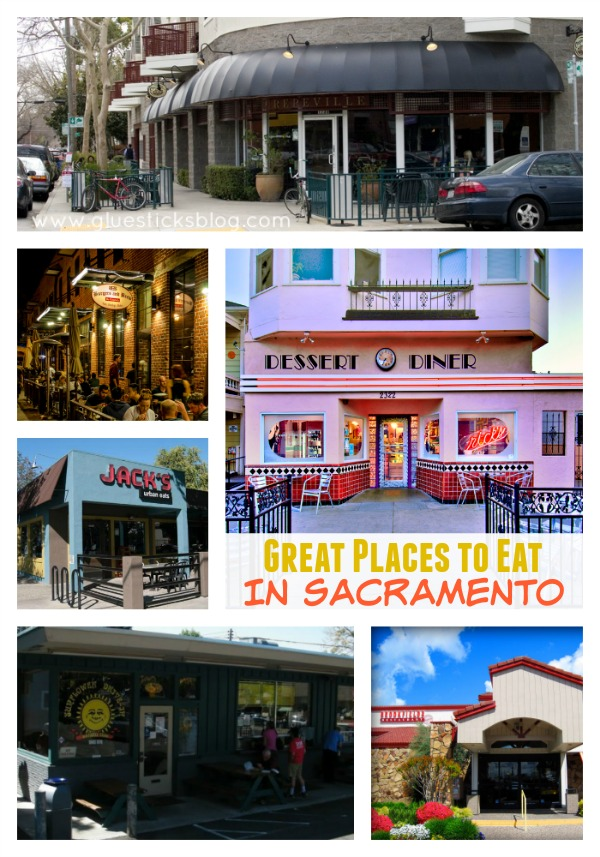 Great places to eat in Sacramento