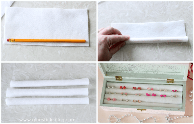 earring storage box tutorial