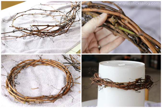 grapevine wreath tutorial