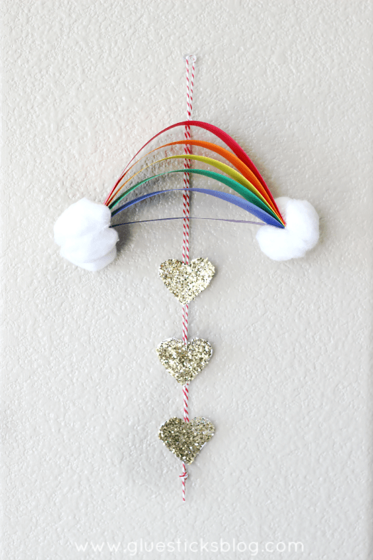 St. Patrick's Day Rainbow Craft