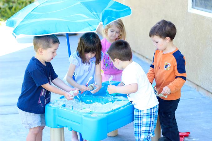 Sand & Water Sensory Activities