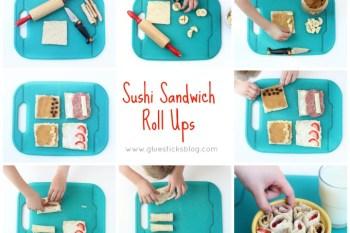 """Sushi"" Sandwich Roll Ups"