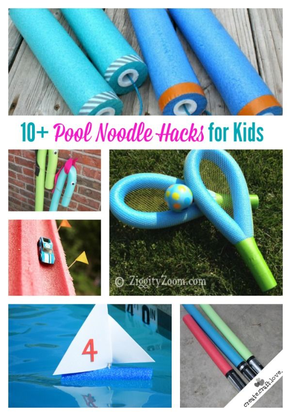 Pool Noodle Hacks for Kids
