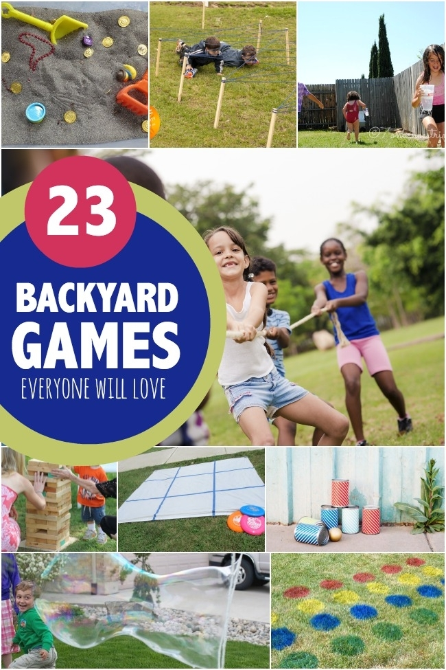 23 Backyard Games for Kids