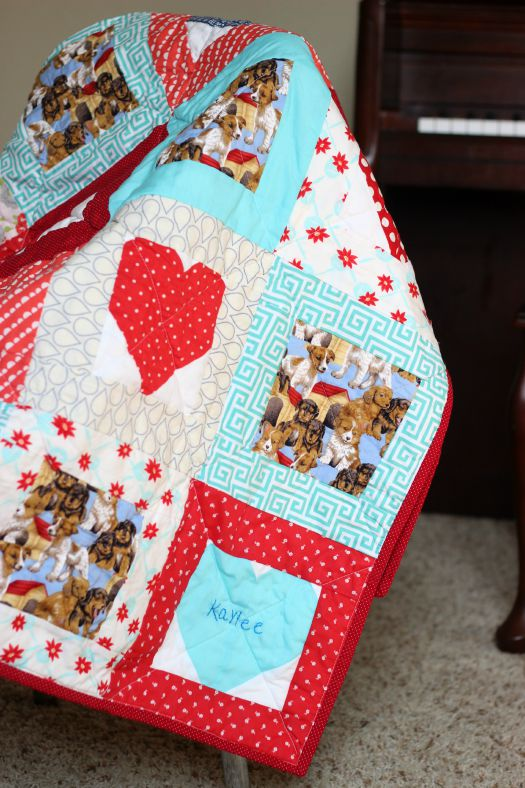 Puppy Love Quilt
