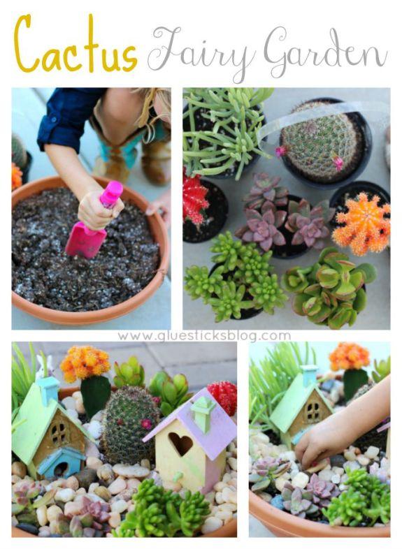 cactus fairy garden