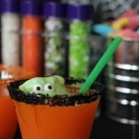 Little Green Monster Halloween Punch
