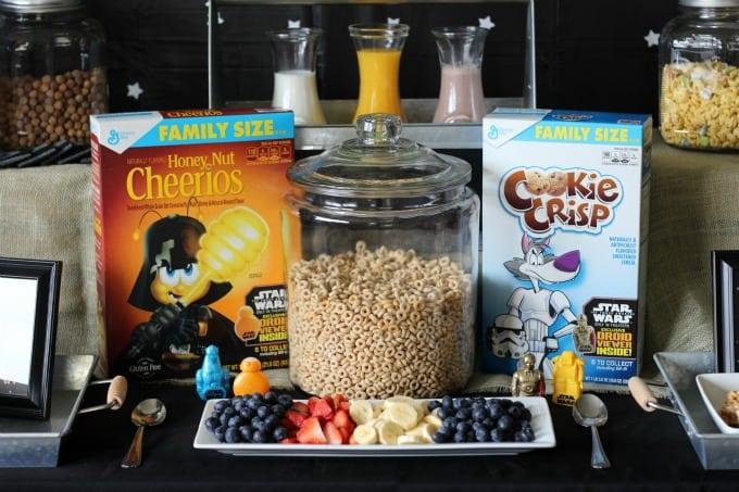 close up cereal bar