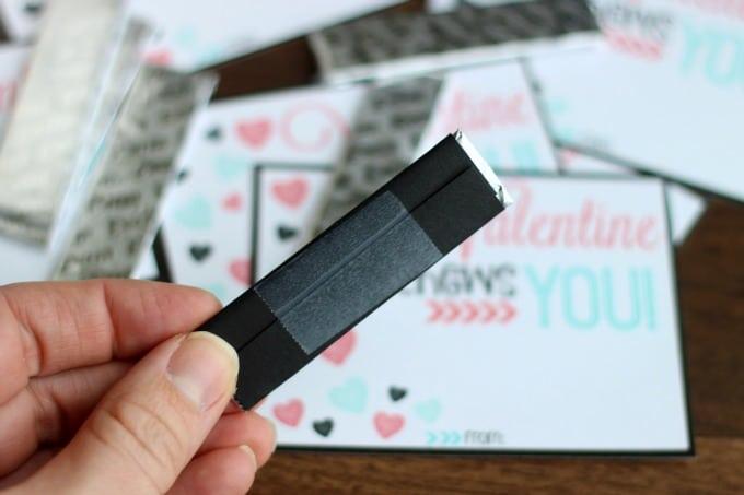 I CHEWS You Printable Valentines