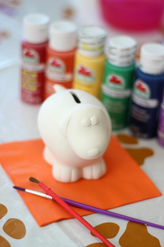 Acryllic Over Milk Paint