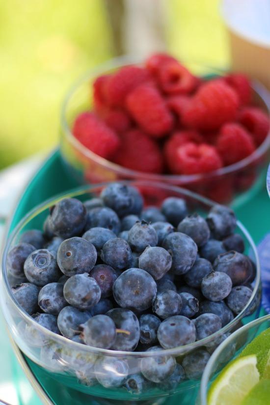 berry pie bar