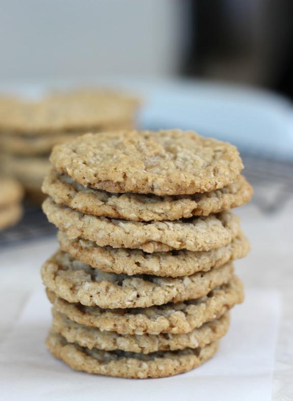 stack of ice cream sandwich cookies