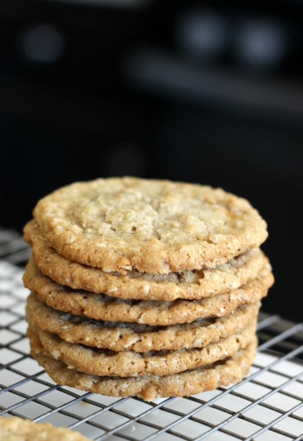 Old Fashioned Iced Oatmeal Cookie Recipe