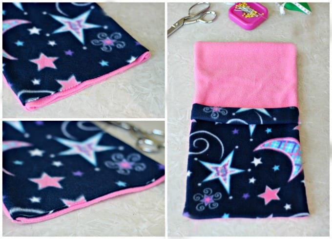 sewing teddy bear sleeping bag