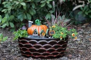 Make A Fall Fairy Garden For Your Porch