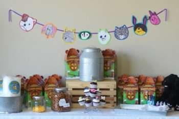 DIY Stuffed Animal Party