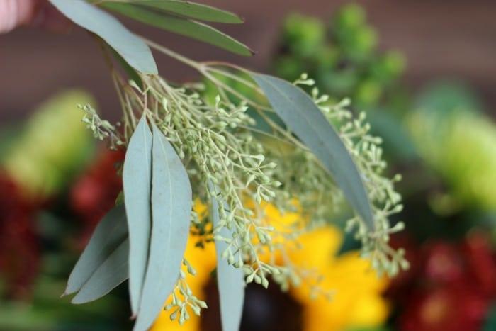 DIY Fall Floral Arrangement