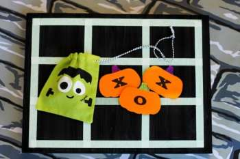Halloween Tic-Tac-Toe Game