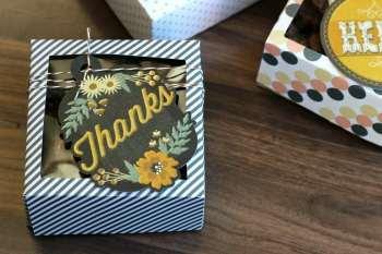 Card Stock Treat Box Tutorial {Free Template}