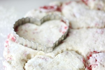 Sweetheart Raspberry Scones Recipe