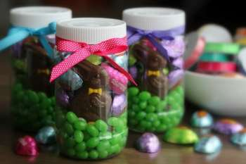 Easter in a Jar Gift Idea