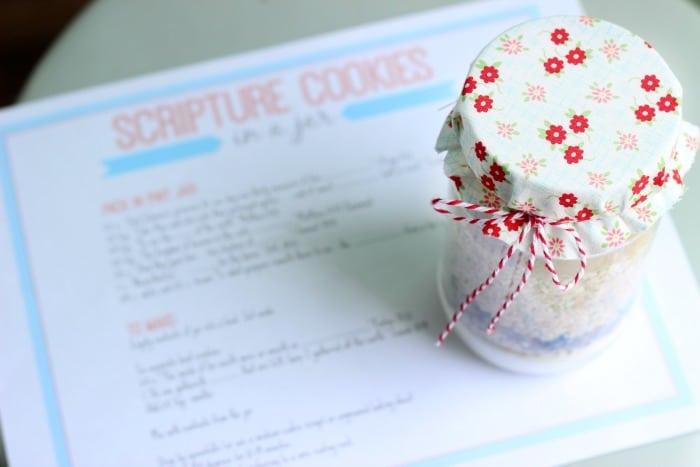 Scripture Cookies In A Jar Gluesticks